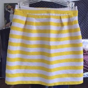 Kate Spade Yellow Skirt